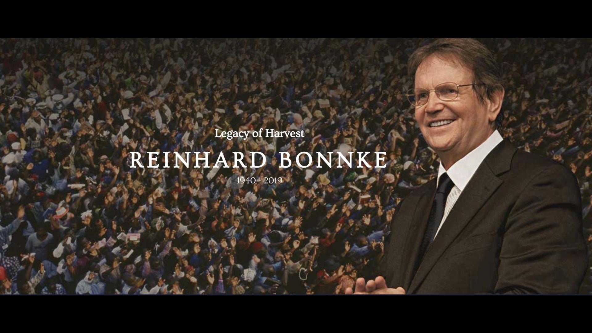 REINHARD BONNKE EL ADIÓS A UN GENERAL DE DIOS